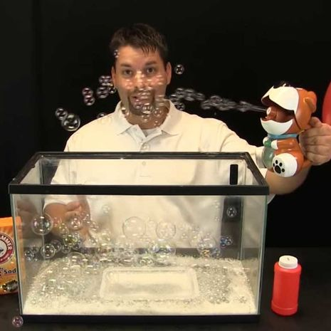 Science experiment demonstration